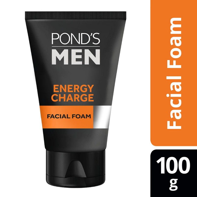 Ponds Men Face Wash Energy Charge – 100gm (Thailand)