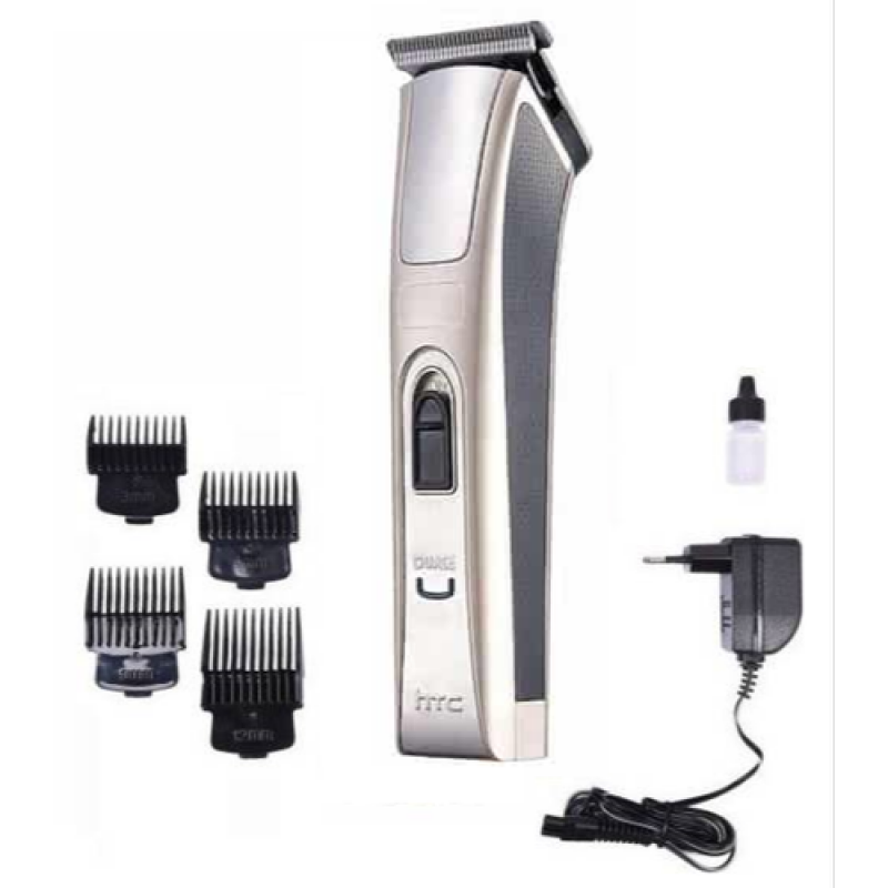 HTC AT-128 Rechargeable Trimmer For Men (Golden)